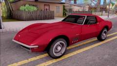 Chevrolet Corvette C3 Stingray pour GTA San Andreas