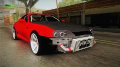 Toyota Supra Drift Monster Energy pour GTA San Andreas