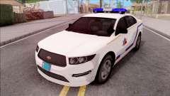 Vapid Police Interceptor Hometown PD 2012 pour GTA San Andreas