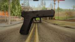 Glock 17 3 Dot Sight Blue