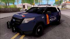 Ford Explorer Spanish Police