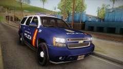 Chevrolet Tahoe Spanish Police pour GTA San Andreas