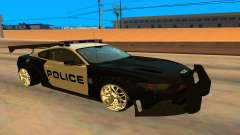 Ford Mustang GT 2015 Police Car pour GTA San Andreas