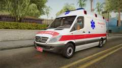 Mercedes-Benz Sprinter Iranian Ambulance pour GTA San Andreas