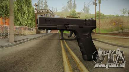 Glock 18 3 Dot Sight Ultraviolet Indigo für GTA San Andreas