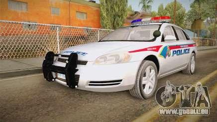 Chevrolet Impala 2006 YRP für GTA San Andreas