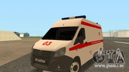 GAZelle Ambulance pour GTA San Andreas