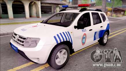 Renault Duster Turkish Police Patrol Car pour GTA San Andreas