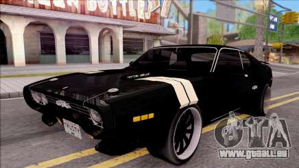 Plymouth GTX Roadrunner 1972 Fate Of Furious 8 für GTA San Andreas
