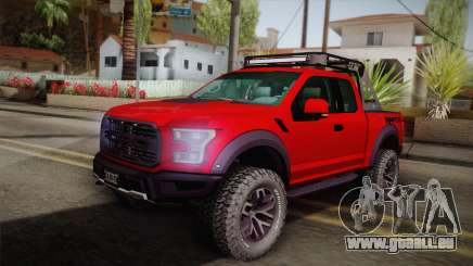 Ford F-150 Raptor 2017 pour GTA San Andreas