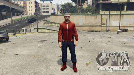 Real Jay Garrick (Earth-3) 1.1 pour GTA 5