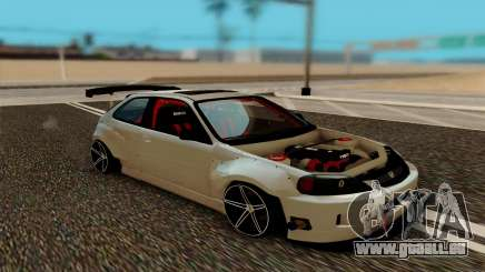 Honda Civic 98 Hatch Rocket Bunny pour GTA San Andreas