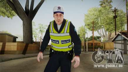 Turkish Traffice Police Officer-Long Sleeves pour GTA San Andreas