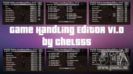 Game Handling Editor v1.0 pour GTA San Andreas