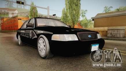 Ford Crown Victoria PI Stealth YRP für GTA San Andreas