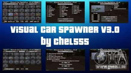 Visual Car Spawner v3.0 pour GTA San Andreas