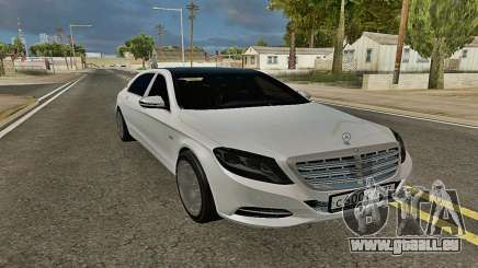 Mercedes-Maybach S600 X222 Exclusive für GTA San Andreas