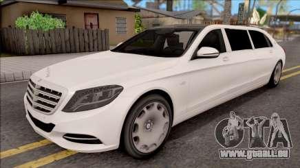 Mercedes-Maybach S600 Pullman pour GTA San Andreas