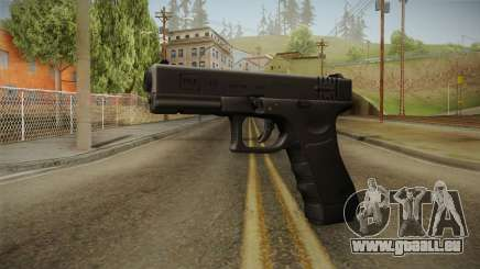 Glock 18 3 Dot Sight Blue für GTA San Andreas