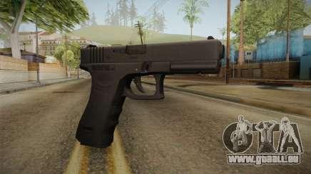 Glock 17 3 Dot Sight Ultraviolet Purple pour GTA San Andreas
