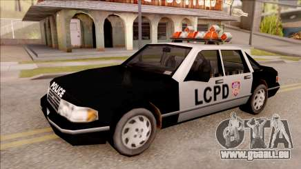 Police Car from GTA 3 für GTA San Andreas