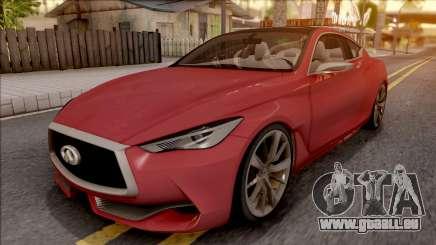 Infiniti Q60 für GTA San Andreas