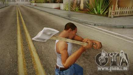 Friday The 13th - Jason Voorhees (Part IX) Axe pour GTA San Andreas