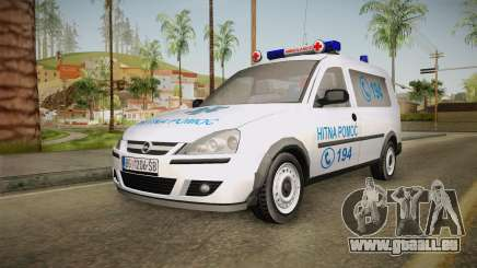 Opel Combo Ambulance pour GTA San Andreas