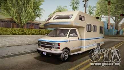 GTA 5 Brute Camper IVF pour GTA San Andreas