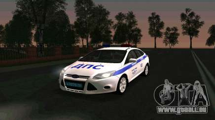 Ford Focus Police für GTA San Andreas