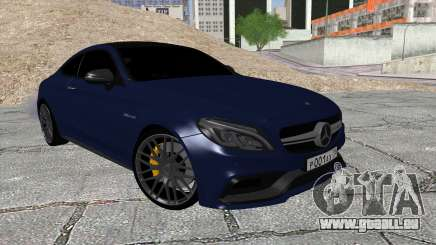 Mercedes-Benz C63 Coupe Rashid Edition für GTA San Andreas