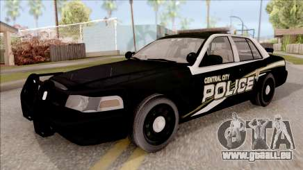 Ford Crown Victoria Central City Police pour GTA San Andreas