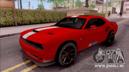 Dodge Challenger Hellcat Consept für GTA San Andreas