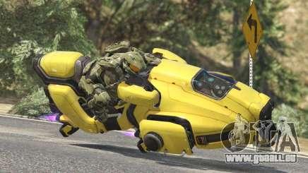 Sci-Fi Hover Bike 1.1b pour GTA 5