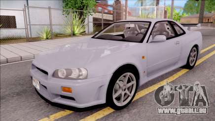 Nissan Skyline GT-R R34 Vspec Stock für GTA San Andreas