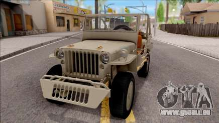 Jeep Willys MB 1945 pour GTA San Andreas