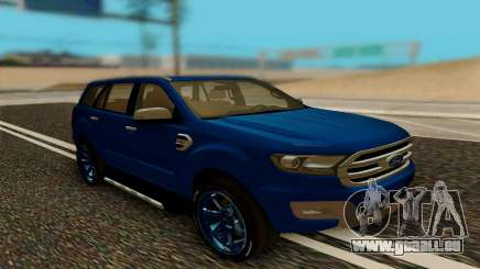 Ford Everest 2017 für GTA San Andreas