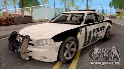Dodge Charger Los Santos Police Department 2010 pour GTA San Andreas
