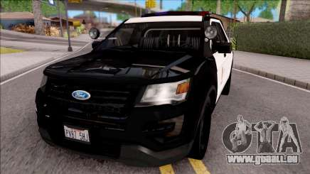Ford Explorer Police Interception für GTA San Andreas