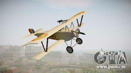 Nieuport 11 Bebe - Nr.1249 Romania pour GTA San Andreas