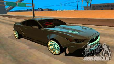Ford Mustang Azure Inferno für GTA San Andreas