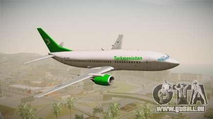 Boeing 737-300 Turkmenistan Airlines für GTA San Andreas
