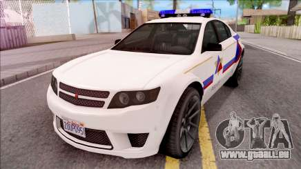 Cheval Fugitive Hometown PD 2012 pour GTA San Andreas