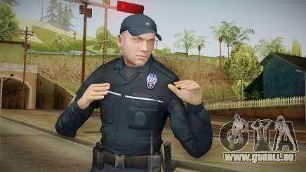 Turkish Police Officer Long Sleeves pour GTA San Andreas