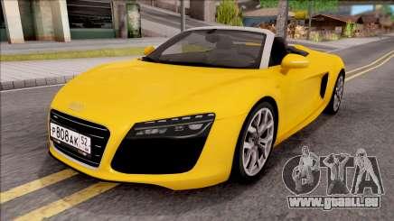 Audi R8 Cabriolet für GTA San Andreas