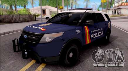 Ford Explorer Spanish Police pour GTA San Andreas