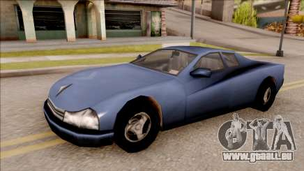 Cheetah from GTA 3 pour GTA San Andreas