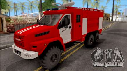 Oural PROCHAINE Citerne Incendie pour GTA San Andreas