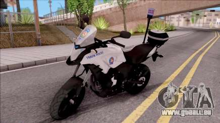 Honda CB500X Turkish Traffic Police Motorcycle pour GTA San Andreas