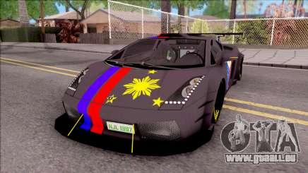 Lamborghini Gallardo Philippines v2 pour GTA San Andreas